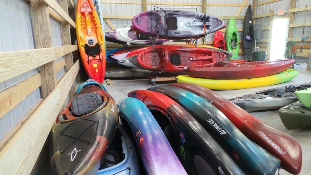 Whitewater warehouse annual new used boat sale for Used fishing kayak sale
